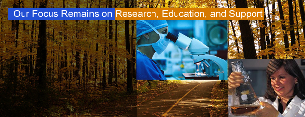 Our focus is on research